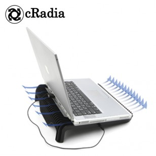 CRADIA CRF-105BLACK BLOWMAX NOTEBOOK SOĞUTUCU