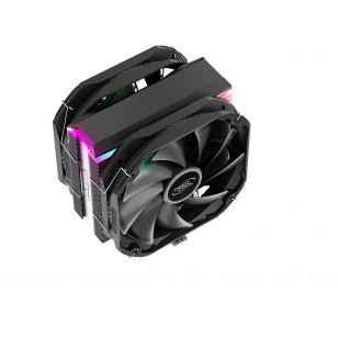 DEEP COOL AS500 Plus, Soket Intel LGA2066 / 2011-v3 / 2011/1200/115X ve AMD AM4 / AM3 + / AM3 / AM2 + / AM2 / FM2 + / FM2 / FM1, 2X140mm Fan İşlemci Soğutucusu