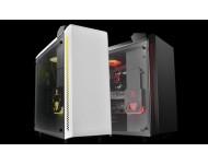 DEEP COOL BARONKASE LIQUID WHITE DAHİLİ SIVI SOĞUTMALI ATX BEYAZ kasa 2 × USB3.0 / Ses (HD) × 1 / Mikrofon × 1 / RGB için Manuel Kontrol Cihazı, PCI/AGP 340mm