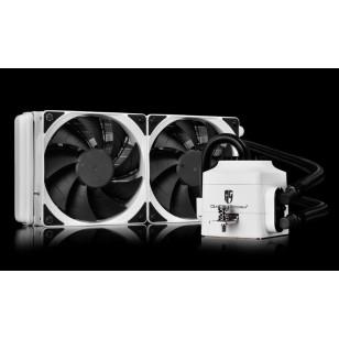 DEEP COOL CAPTAIN240EX WHITE Soket Intel ve AMD , Su bazli İşlemci Soğutucusu