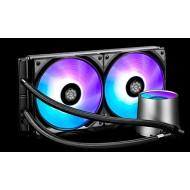 DEEP COOL CASTLE 280RGB Soket Intel ve AMD destekli, Su bazli İşlemci Soğutucusu