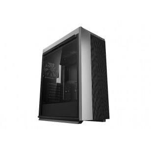 DEEP COOL CL500 ATX Mid Tower Siyah kasa, 1 x 120 mm DC fan, Ses x 1 , USB3.0 Tip-A x 2, USB3.1 Tip-C x 1, Temperli Cam yan kapak, PCI/AGP 330mm
