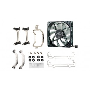 DEEP COOL GAMMAXX 400, Soket Intel ve AMD, 120x120x25mm Fan Mavi Led  İşlemci Soğutucusu