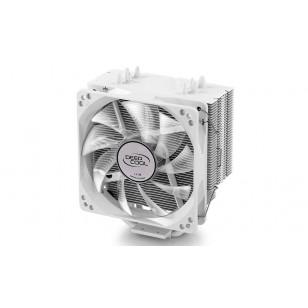 DEEP COOL GAMMAXX400_WHITE, Soket Intel ve AMD, 120x120x25mm Fan BEYAZ Led  İşlemci Soğutucusu