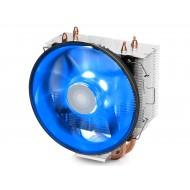DEEP COOL GAMMAXX 300B, Soket Intel 130W ve AMD 125W, 120X25mm Fan Mavi Ledli İşlemci Soğutucusu