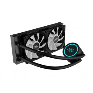 DEEP COOL GAMMAXX L240T BLUE Soket Intel ve AMD destekli, Sıvı bazlı İşlemci Soğutucusu