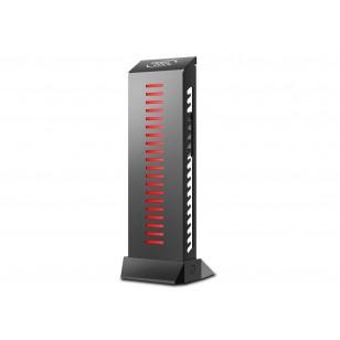 DEEP COOL GH-01 RGB, 9 adet RGB LED ışığı ile donatılmış, M / B ile diğer 12V RGB cihazları ile senkronize edilebilir.