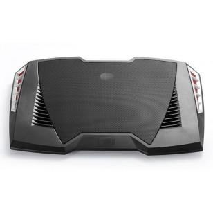 DEEP COOL M6 Mavi Ledli 140X15mm Fan, 5 USB Port 2 Hoparlörlü Notebook Stand ve Soğutucu