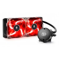 DEEP COOL MAELSTROM 240T RED SIVI BAZLI İŞLEMCİ SOĞUTUCUSU, Soket Intel ve AMD