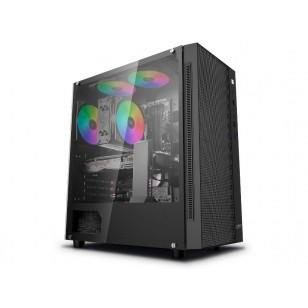 DEEP COOL MATREXX 55 MESH Mini-ITX / Micro-ATX / ATX / E-ATX Siyah Kasa 1xUSB 3.0, 2xUSB 2.0, 1xAudio, 1xMic, PCI/AGP 370mm