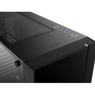 DEEP COOL MATREXX55 V3 ADD RGB 3F  E-ATX / ATX / Mikro ATX / Mini-ITX SİYAH KASA 3X120mm Led fan 1xUSB 3.0, 2xUSB 3.0, 1xAudio, 1xMic,RGB düğmesi PCI/AGP 370mm