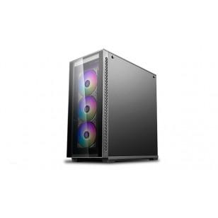 DEEP COOL MATREXX 70 ADD-RGB 3F E-ATX / ATX / Mikro ATX / Mini-ITX Siyah KASA 1X120mm fan + 3X120mm RGB fan, 2×USB3.0/1×USB2.0/1xAudio(HD)/1xMic, PCI/AGP 380mm