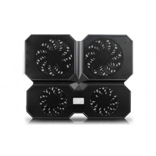 DEEP COOL MULTI CORE X6 140X15mm/100X15mm 4 Fan 2 USB Port Notebook Stand ve Soğutucu