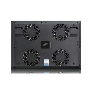 DEEP COOL MULTI CORE X8 100X100X15mm 4 Fan 2 USB Port Notebook Stand ve Soğutucu