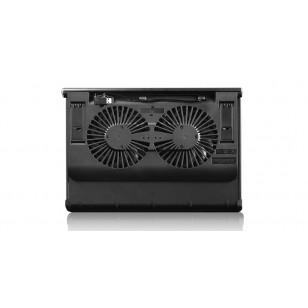 DEEP COOL N 65 Saf Metal Panel Siyah 2 X 140mm Fan 1 X 3.0 USB Port Notebook Stand ve Soğutucu