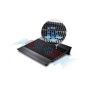 DEEP COOL N8 BLACK 140X140X15mm Fan 4 USB Port Notebook Stand ve Soğutucu