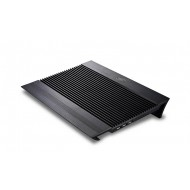 DEEP COOL N8 BLACK 140X140X15mm Fan 4 USB Port Notebook Stand ve Soğutucu