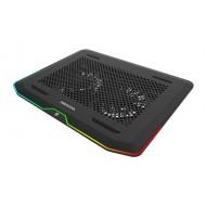 DEEP COOL N80 RGB 2 adet 140x20mm Fan değiştirile bilir Led ışıklı 2 X USB 3.0 Port Notebook Stand ve Soğutucu