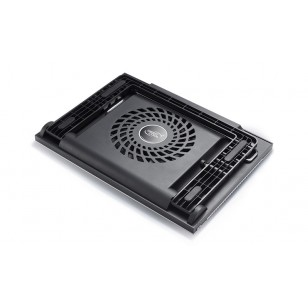 DEEP COOL N9 BLACK 180X15mm Fan 4 USB Port Aleminyum Notebook Stand ve Soğutucu