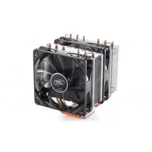 DEEP COOL NEPTWIN V2, Soket Intel ve AMD , 120X120X26mm (2 adet) Fan İşlemci Soğutucusu