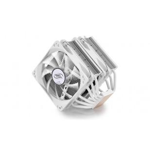 DEEP COOL NEPTWIN WHITE, Soket Intel ve AMD , 120X120X26mm (2 adet) Fan İşlemci Soğutucusu