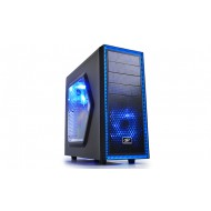 DEEP COOL TESSERACT SW Siyah Kasa 1xUSB 2.0, 1xUSB 3.0, 1xAudio, 1xMic, 120mm Fan, PCI/AGP 310mm