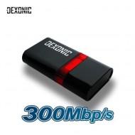 DEXONIC DEX300WIFI 300MBPS 802.11 B-G-N WI-FI USB ADAPTOR