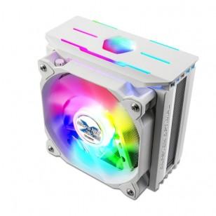 ZALMAN CNPS10X OptimaII RGB White Ultra Sessiz Intel LGA2066/2011-V3/2011/1200/115X/1366 ve AMD AM4/AM3+/AM3/FM2+/FM2 destekli 120mm PWM RGB led Fanlı CPU Soğutucu