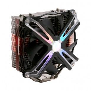 Zalman CNPS17X  Tuning Efektli 140mm LED Fanl'lı CPU Soğt .LGA2066/2011-V3/2011/115X/AM4/AM3+/AM3 CPU Cooler, 5 Heatpipes, PWM fan, TDP 200W