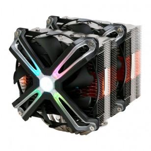 Zalman CNPS20X  Tuning Efektli 140mm LED Fanl'lı CPU Soğt. LGA2066/2011-V3/2011/115X/AM4/AM3+/AM3 CPU Cooler, 6 Heatpipes, PWM fan, TDP 300W
