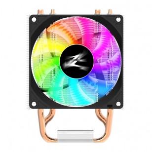 Zalman CNPS4XRGB CPU Soğt. LGA775/115X/AM4/AM3/FM2+/FM2 CPU Cooler, 2 Heatpipes, 92mm PWM fan, TDP 95W