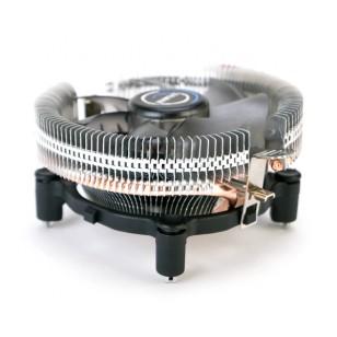 ZALMAN CNPS7600 PWM Saf alüminyum, yüksek uyumluluk tasarımı ile sessiz işlemci soğutucusu.