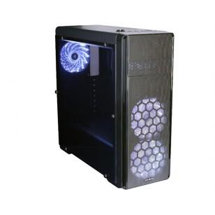ZALMAN N3 Atx Mid Tower Siyah Kasa 1 x Kulaklık, 1 x Mikrofon, 2 x USB 2.0, 1 x USB 3.0, Fan Kontrol Cihazı, 3x120mm Fan, PCI/AGP 360mm