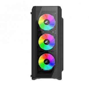 ZALMAN N5 TF ATX Mid Tower 4 RGB Fanlı Kasa 1 x Kulaklık, 1 x Mikrofon, 2 x USB 2.0, 1 x USB 3.0, Fan Kontrol, Renkli Akralik Panel, PCI/AGP365mm