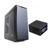 ZALMAN R1 ATX Mid Tower 600W Power Supply Kasa 1 x Mikrofon 1 x Kulaklık, 1 x USB 3.0, 2 x USB 2.0