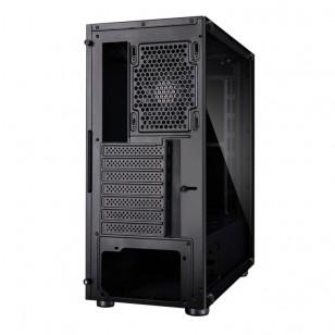 ZALMAN R2 BLACK ATX Mid Tower Kasa 1 x Kulaklık, 1 x Mikrofon, 2 x USB 2.0, 1 x USB 3.0,  PCI/AGP350mm