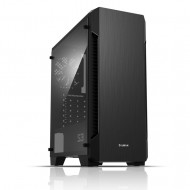 ZALMAN S3 TG ATX Mid Tower Kasa 1 x Mikrofon 1 x Kulaklık, 1 x USB 3.0, 2 x USB 2.0, 1 x 120mm fan, Cam yan kapak, PCI/AGP 330mm