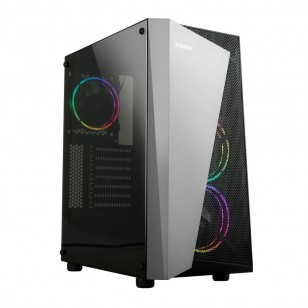 ZALMAN S4-Plus ATX Mid Tower Kasa 1 x Mikrofon 1 x Kulaklık, 1 x USB 3.0, 2 x USB 2.0, 1 x 120mm fan, Cam yan kapak, , PCI/AGP 330mm