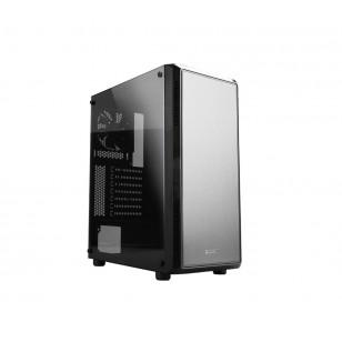 ZALMAN S4 ATX Mid Tower Kasa 1 x Mikrofon 1 x Kulaklık, 1 x USB 3.0, 2 x USB 2.0, 1 x 120mm fan, Cam yan kapak, , PCI/AGP 330mm