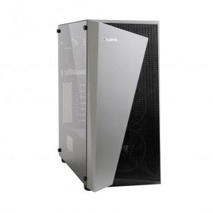 ZALMAN S4-Plus 500W ATX Mid Tower Kasa 1 x Mikrofon 1 x Kulaklık, 1 x USB 3.0, 2 x USB 2.0, 1 x 120mm fan, Cam yan kapak, , PCI/AGP 330mm