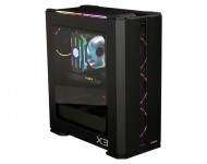 ZALMAN X3 BLACK ATX Mid-Tower Siyah Kasa 4 x 120mm RGB LED fan