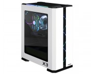 ZALMAN X3 WHITE ATX Mid-Tower Beyaz Kasa 4 x 120mm RGB LED fan