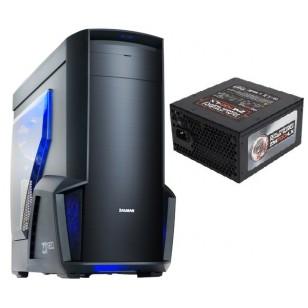 ZALMAN Z11 NEO Mid Tower 700W Power Supply Siyah Kasa 1 x Mikrofon 1 x Kulaklık, 2 x USB 3.0, 2 x USB 2.0