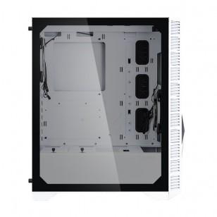 ZALMAN Z3 Iceberg White ATX Mid Tower Kasa 1 x Mik., 1 x Kul., 2 x USB 3.0, 1 x USB 2.0, Led Kontrol, 2 x 120mm RGB fan, Temperli Cam yan kapak, PCI/AGP 315mm
