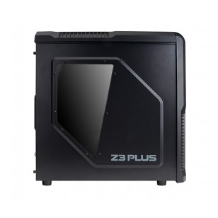 ZALMAN Z3 Plus + 600W Siyah Atx Mid Tower Kasa 2xUSB 2.0, 3xUSB 3.0, 4x120mm Fan