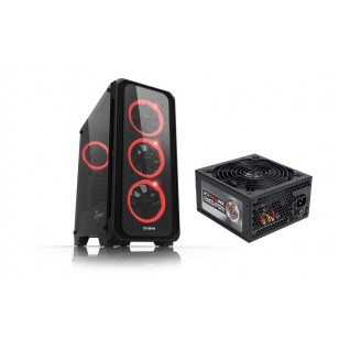 ZALMAN Z7 NEO Atx Mid Tower 700W 80 PLUS  Siyah Kasa 1 x Kulaklık ,1 x Mikrofon, 2 x USB 2.0, 1 x USB 3.0, 4 x 120mm Led fan, LED Kontrol, PCI/AGP 355mm