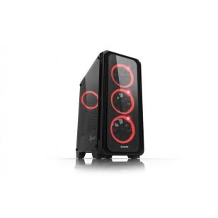 ZALMAN Z7 NEO Atx Mid Tower Siyah Kasa 1 x Kulaklık ,1 x Mikrofon, 2 x USB 2.0, 1 x USB 3.0, 4 x 120mm Led fan, LED Kontrol, PCI/AGP 355mm
