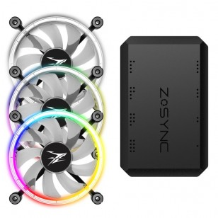ZALMAN ZM-LF120A3 Premium Çift Taraflı Halka Adreslene bilir 3 X 120mm LED Fan