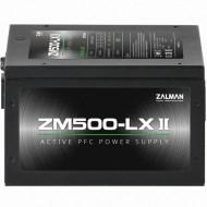 ZALMAN ZM500-LXII 500W Dayanıklı ve Güvenilir Yüksek Performanslı Active PVC li 120mm Fanlı Güç Kaynağı
