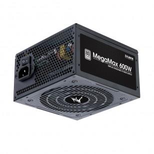 ZALMAN ZM600-TXII (MegaMax 600W) 600W ÇİFT İLERİ (DUAL FORWARD) 120mm Fanlı +80 PLUS Güç Kaynağı